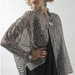 Black Rain Sheer Silk Jacket