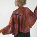 Wool Voile Batwing Jacket